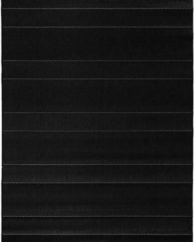 Černý koberec vhodný i na ven Hanse Home Sunshine, 120 x 170 cm