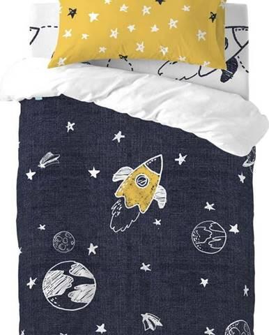 Dětské bavlněné povlečení na jednolůžko Mr. Fox Starspace,115x145cm