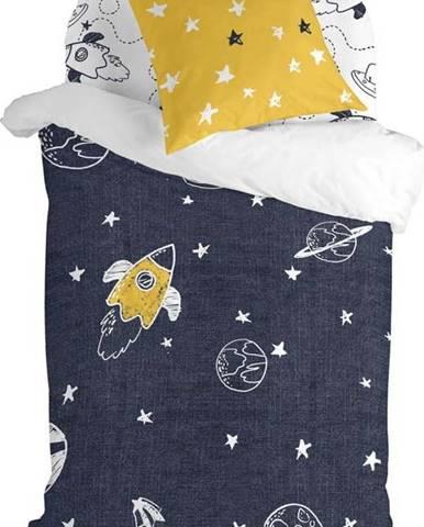 Dětské bavlněné povlečení na jednolůžko Mr. Fox Starspace,140x200cm