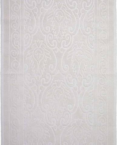 Krémový bavlněný koberec Vitaus Osmanli, 80x200cm