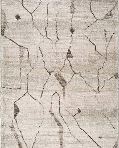 Krémový koberec Universal Moana Creo, 80 x 150 cm