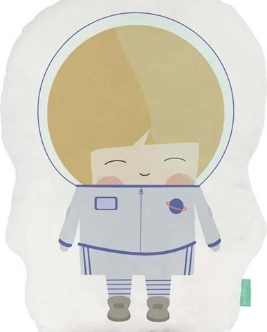 Polštářek z čisté bavlny Happynois Astronaut, 40x30 cm