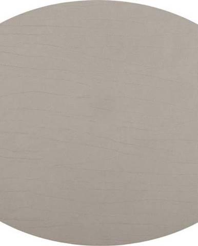 Šedobéžové prostírání z recyklované kůže ZicZac Titan, 33x45cm