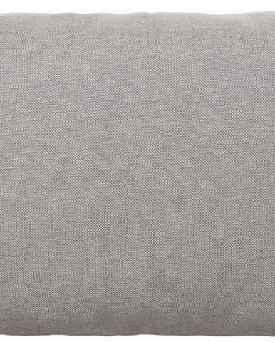 Šedohnědý bavlněný povlak na polštář Blomus, 60x40cm