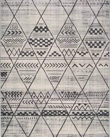 Šedý koberec Universal Adra Gresso, 133 x 190 cm