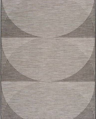 Šedý venkovní koberec Universal Biorn, 77 x 150 cm