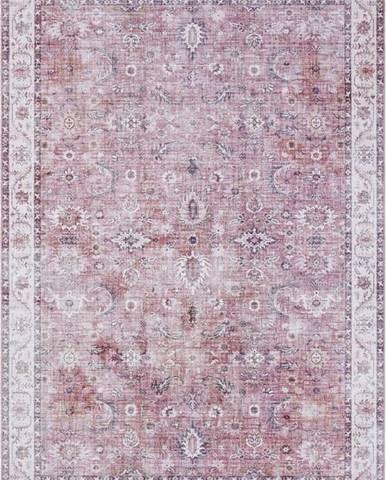 Světle červený koberec Nouristan Vivana, 160 x 230 cm