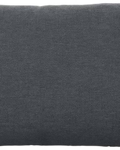Tmavě šedý bavlněný povlak na polštář Blomus, 50x30cm