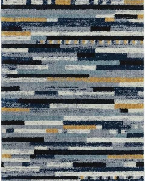 Asiatic Carpets Modrý koberec Asiatic Carpets Emir, 120 x 170 cm