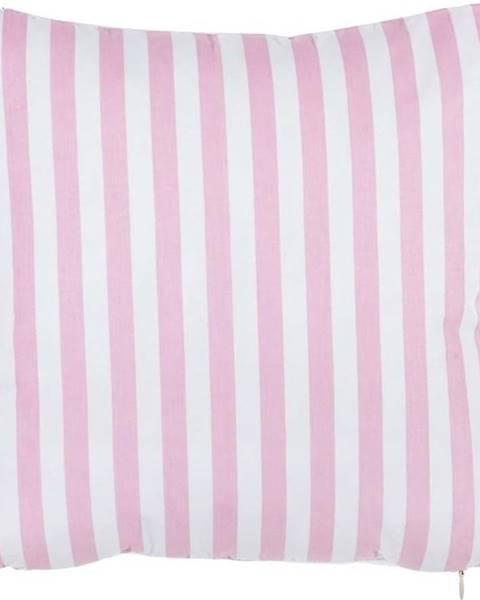 Mike & Co. NEW YORK Růžový bavlněný povlak na polštář Mike&Co.NEWYORK Tureno, 35 x 35 cm