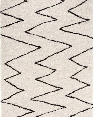 Béžovo-černý koberec Mint Rugs Jara, 200 x 290 cm