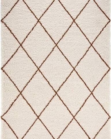 Béžovo-hnědý koberec Mint Rugs Feel, 120 x 170 cm