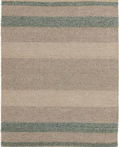 Hnědo-tyrkysový koberec Asiatic Carpets Fields, 160 x 230 cm