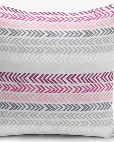 Povlak na polštář s příměsí bavlny Minimalist Cushion Covers Zig, 45 x 45 cm