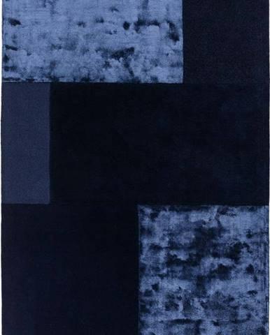 Tmavě modrý koberec Asiatic Carpets Tate Tonal Textures, 200 x 290 cm