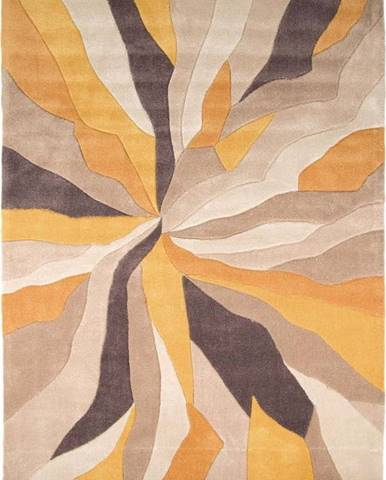 Žlutý koberec Flair Rugs Splinter,120x170cm
