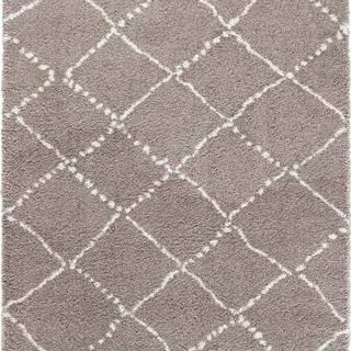 Hnědý koberec Mint Rugs Hash, 160 x 230 cm