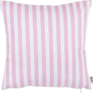 Růžový bavlněný povlak na polštář Mike&Co.NEWYORK Tureno, 35 x 35 cm