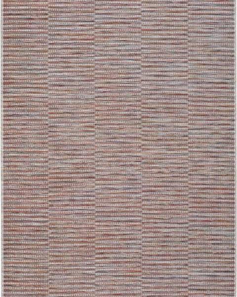 Universal Červený venkovní koberec Universal Bliss, 130 x 190 cm