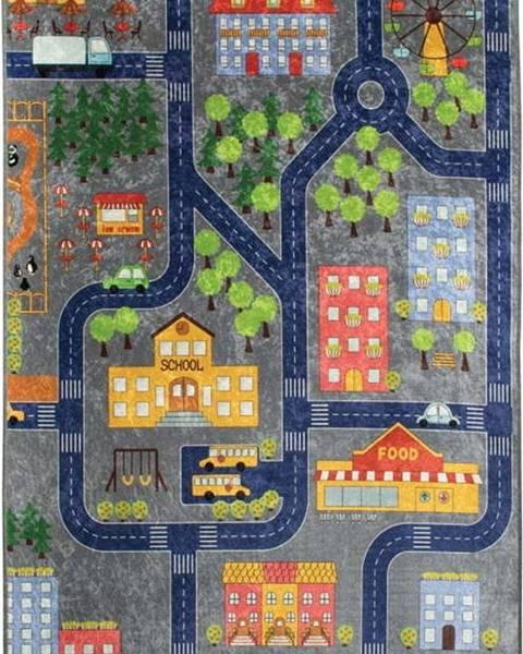 Bonami Dětský koberec Small Town, 200x290cm