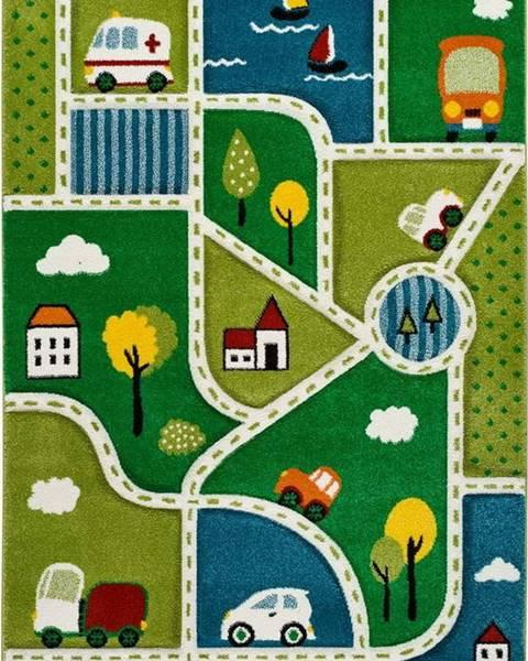 Universal Dětský koberec Universal Toys City, 120 x 170 cm