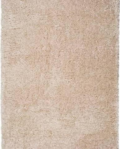 Béžový koberec Universal Floki Liso, 60x120cm