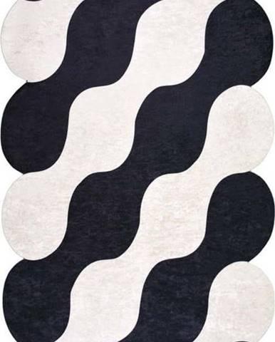 Černo-béžový koberec Vitaus Farsiko, 80 x 120 cm