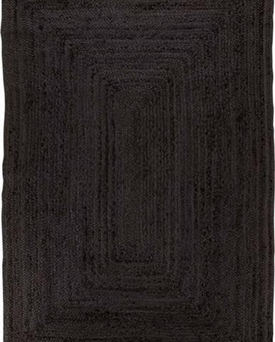 Černý koberec House Nordic Bombay Rug, 180 x 240 cm