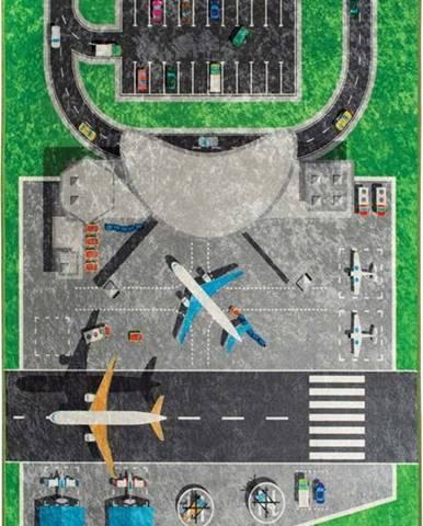 Dětský koberec Airport, 140x190cm