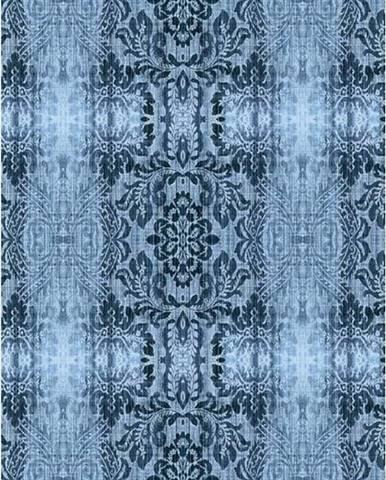 Petrolejový koberec Vitaus Becky,80x300cm