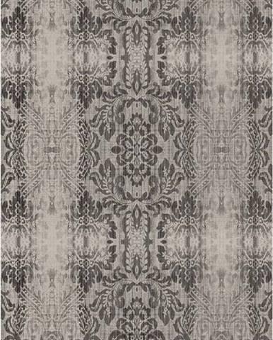 Šedobéžový koberec Vitaus Becky,80x150cm