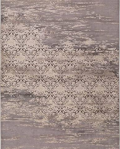 Šedý koberec Universal Arabela Beig, 140 x 200 cm
