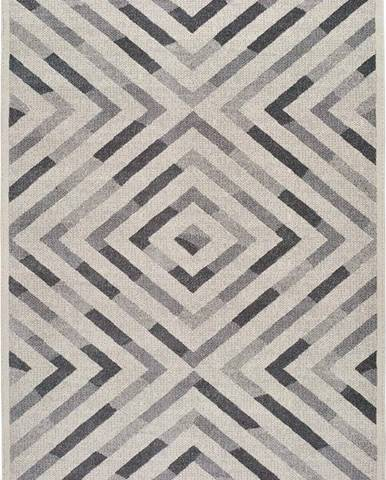 Šedý koberec Universal Dream Geo, 120 x 170 cm