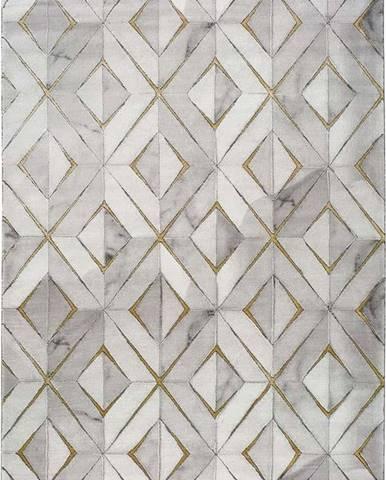 Šedý koberec Universal Norah Dice, 120 x 170 cm