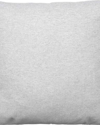 Světle šedý bavlněný povlak na polštář Blomus, 45x45cm
