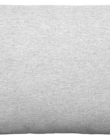 Světle šedý bavlněný povlak na polštář Blomus, 50x30cm