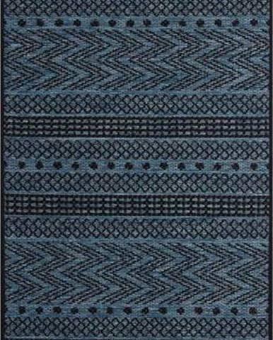 Tmavě modrý venkovní koberec Bougari Sidon, 70 x 200 cm