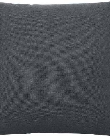 Tmavě šedý bavlněný povlak na polštář Blomus, 45x45cm