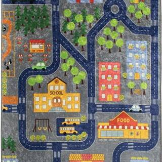 Dětský koberec Small Town, 200x290cm