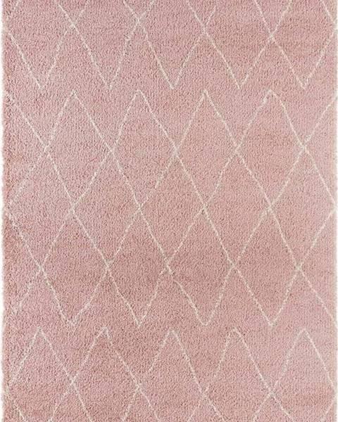Mint Rugs Růžový koberec Mint Rugs Jade, 80x150cm