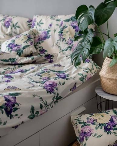 Bavlněné povlečení Cotton House Violeta, 140 x 200 cm