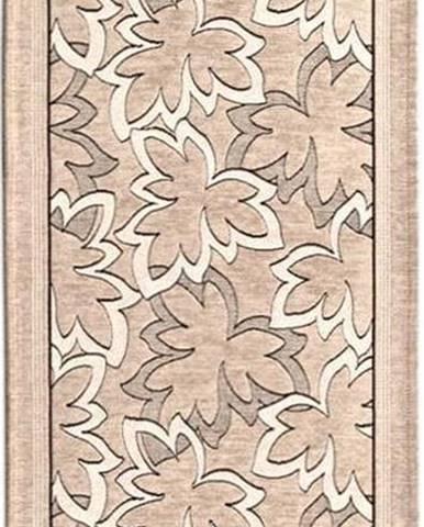 Béžový běhoun Floorita Maple, 55 x 280 cm