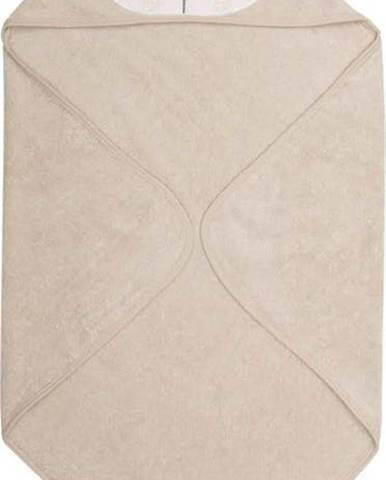 Béžový dětský ručník z froté bavlny Södahl Panda, 80x80cm