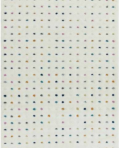 Béžový koberec Asiatic Carpets Dotty Multi, 160 x 230 cm