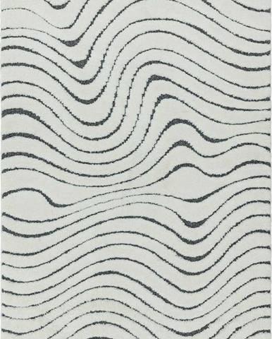 Béžový koberec Asiatic Carpets Ripple, 80 x 150 cm