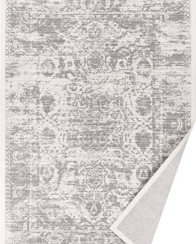 Béžový vzorovaný oboustranný koberec Narma Palmse, 140x200cm