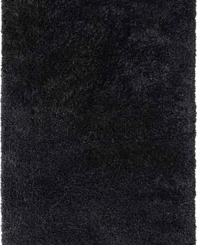 Černý koberec Flair Rugs Sparks, 60 x 110 cm