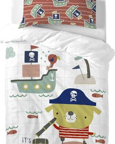 Dětské bavlněné povlečení Moshi Moshi Pirate, 100x120cm