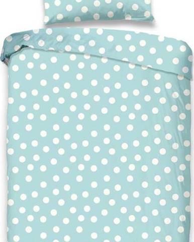 Dětské modré povlečení z bavlny Good Morning Puntík, 100 x 135 cm