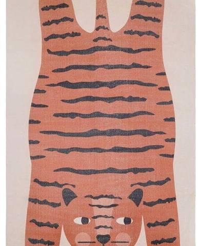 Dětský ručně vyrobený koberec Nattiot Dajala,110x170cm